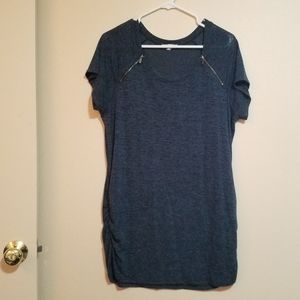 Maurices Dark Turquoise Tunic T-Shirt